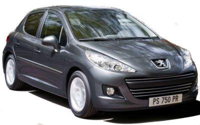 La Peugeot 207, d�voil�e en 2007, a subi un restylage en 2010. L'�volution principale porte sur le bouclier avant. Le d�tail des phares arri�re �volue �galement..
