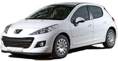 Présentation de la <b>Peugeot 207 99g</b>, championne de la gamme Peugeot en rejets de CO2 (elle n'émet que 99gCO2/km). .
